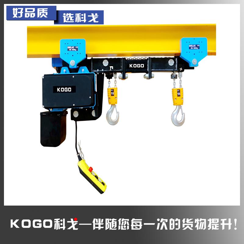 涂装双钩吊环链电动葫芦